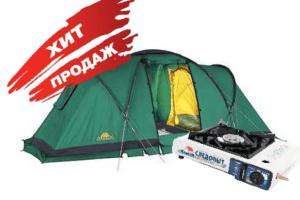 Кемпинговая палатка 4
