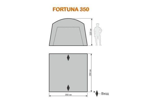 Шатёр автомат Fortuna 350