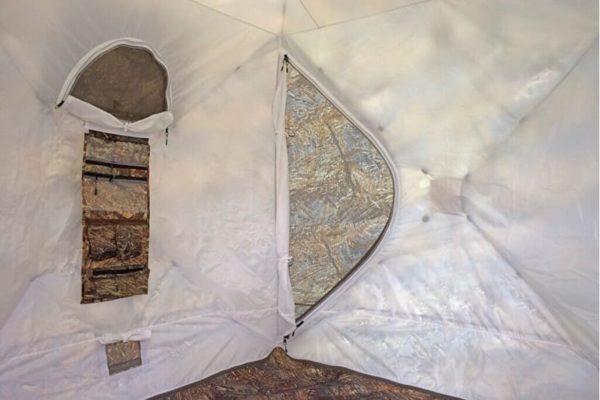 двухслойная палатка