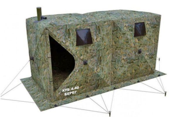 Палатка Кубоид 4.40